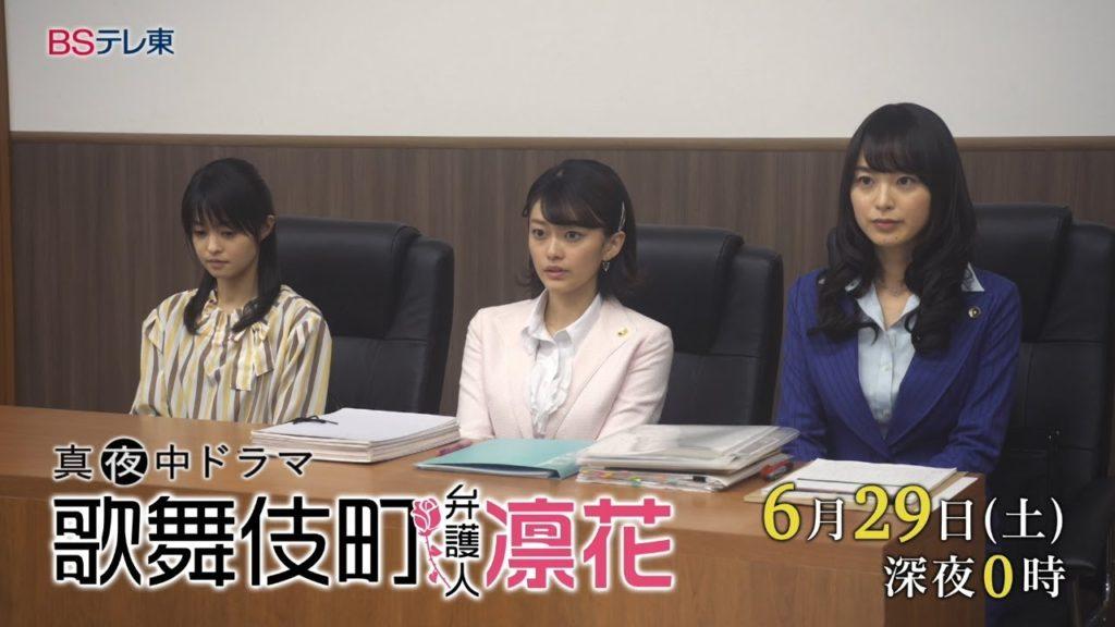 歌舞伎町弁護人凛花11話の感想。小林涼子ゲストの思い出のラブホ回