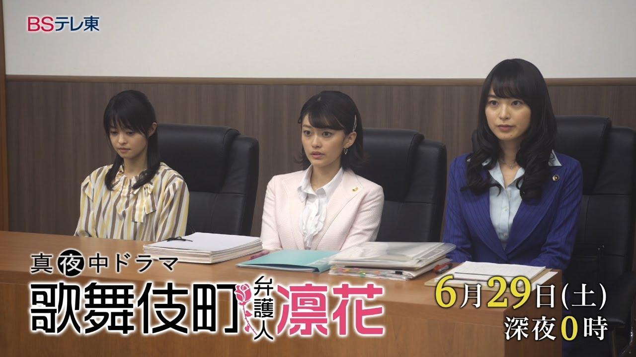 11 1 - 歌舞伎町弁護人凛花11話の感想。小林涼子ゲストの思い出のラブホ回