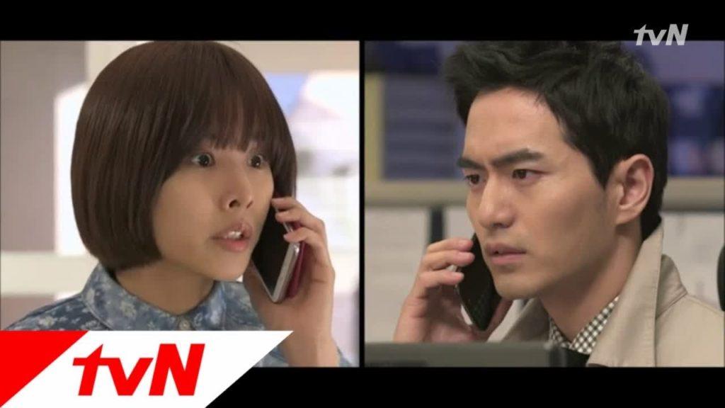 ナイン(韓国ドラマ)ミニョンも切ないことに。初キスのシーンがかわいい