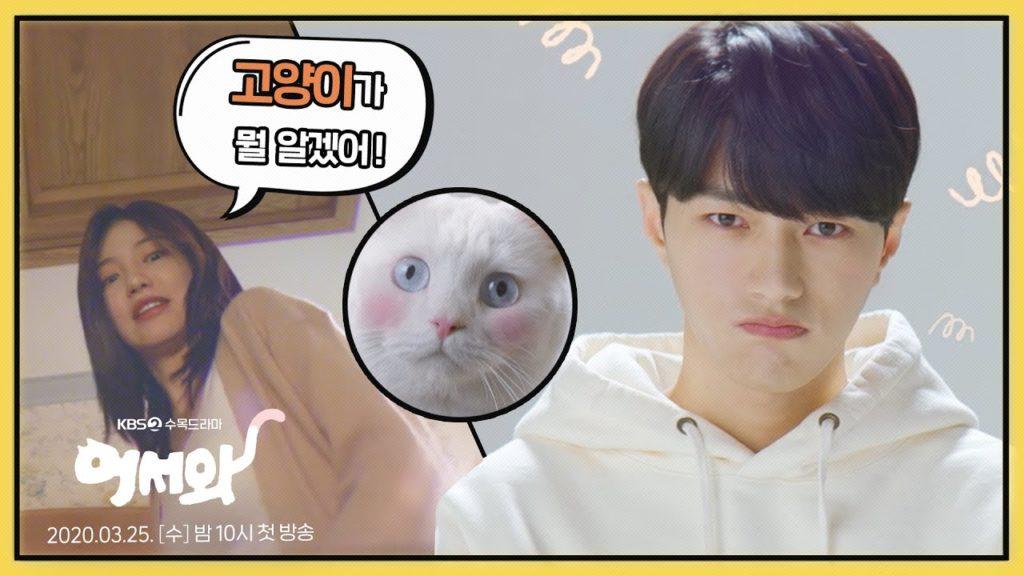 キム・ミョンス(エル)が猫に!おかえり(韓国ドラマ)は人気作になるか?