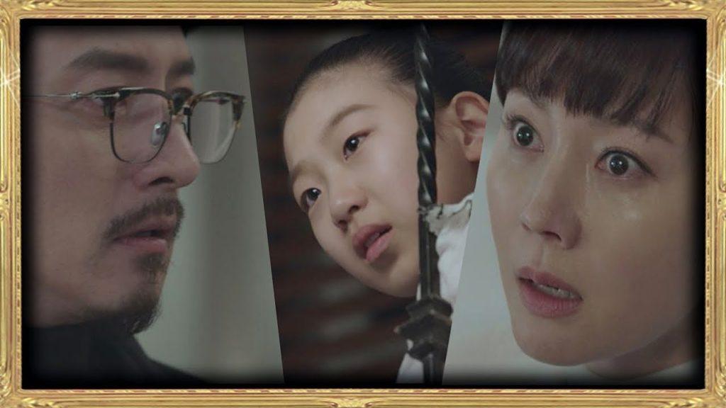 イ・ジウォン(SKYキャッスル子役のイェビン)。トラブルを呼び込む次女