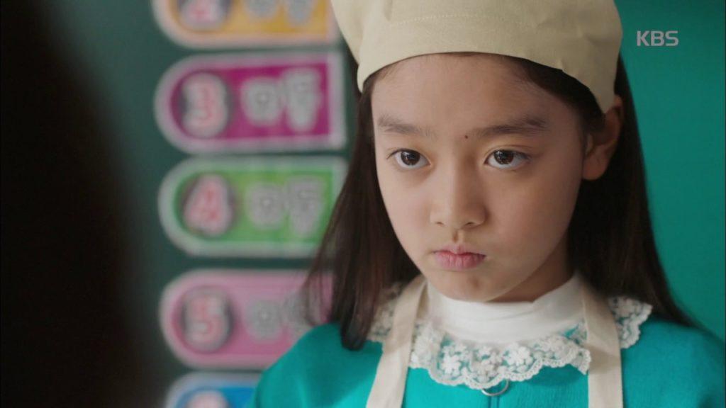 カン・ジウ(オー・マイ・クムビのシルラ)。クムビをライバル視する女の子