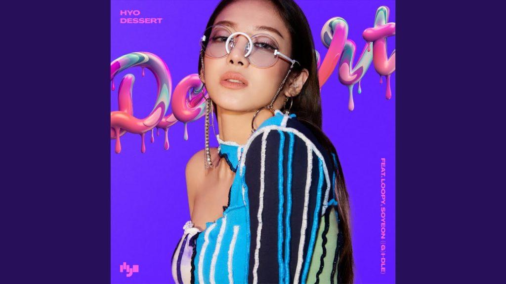 ヒョヨン(少女時代)新曲DESSERTを配信。西欧系美人メンバー